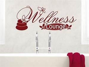 Wandbilder Für Badezimmer : wandtattoo wandaufkleber tattoo f r badezimmer schriftzug wellness lounge blume ebay ~ Markanthonyermac.com Haus und Dekorationen