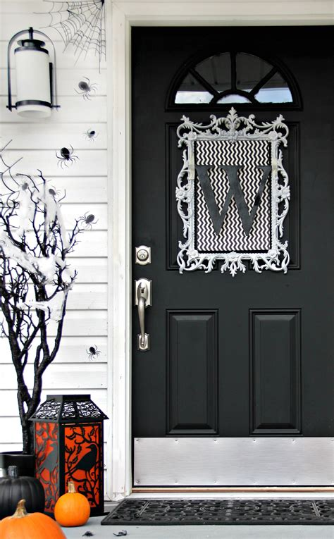 ideas  inexpensive halloween door decorations thistlewood farm