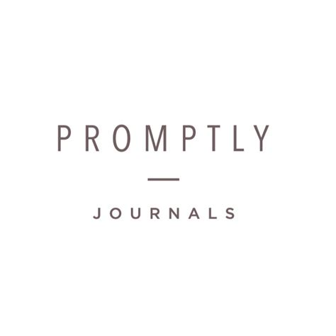 Promptly Journals - YouTube