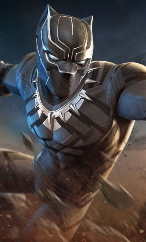 Black Panther Hd Wallpaper For Mobile by Black Panther Marvel Mobile Wallpapers Wallpaper Cave