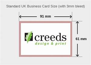 Dafafad for Business card size mm