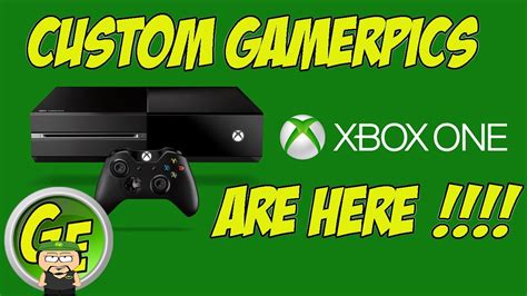 How To Use Custom Gamerpic On Xbox One Tutorial Youtube