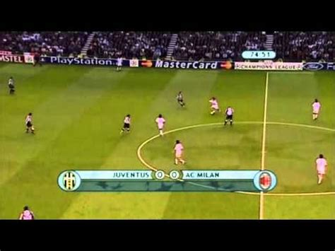 cl final juventus  ac milan highlight part