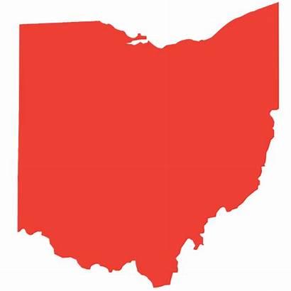 Ohio Outline Silhouette State Vector Clip Clipart