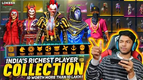 How many days until garena free fire max release date? India's No. 1 Richest Player Collection At Garena Free ...