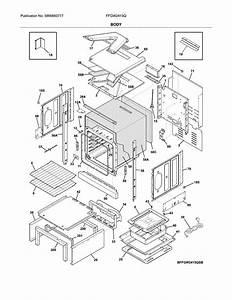Frigidaire Model Ffgw2415qbb Wall Oven  Gas Genuine Parts