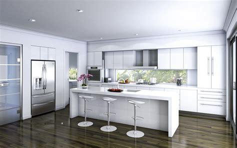 weisse hochglanz küche wei 223 e k 252 che der insel auch tolle bilder auf luxus