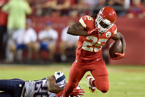 jamaal charles knile davis instant fantasy reaction