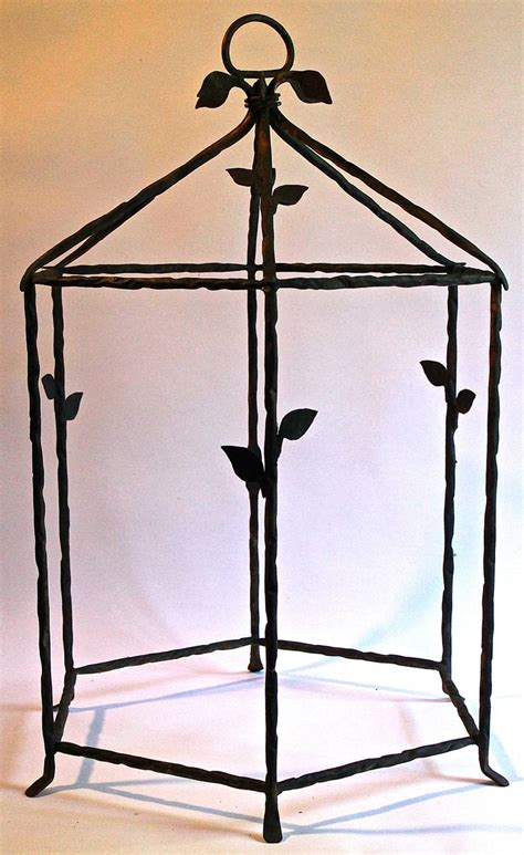wrought iron diego giacometti style large cage for