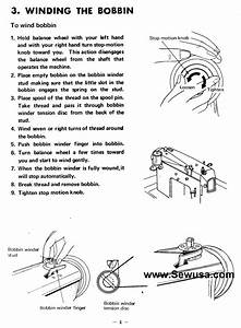 Brother 1241 1243 Sewing Machine Threading Diagram