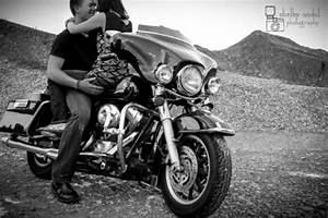 Fun engagement photo idea on a motorcycle by Shelby Andal ...