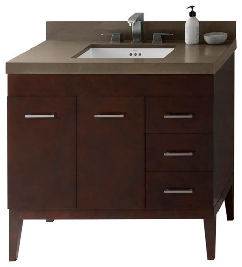 ronbow sinks and vanities ronbow venus solid wood 36 quot vanity set with ceramic sink