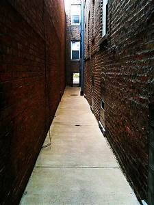 Between Two Buildings In A Chicago Gangway
