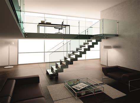 magnifique escalier en m 233 tal et en verre divinox