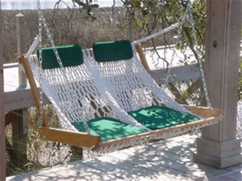 rope porch swing outer banks hammocks