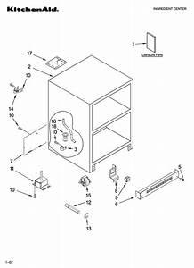 Kitchenaid Double Refrigerator Drawer Parts