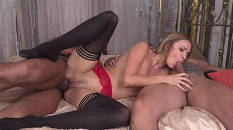 Fantasy Anal Threesome For Cock Sucking Angel Piaff