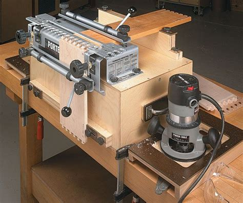 portable dovetail jig workcenter shop projects