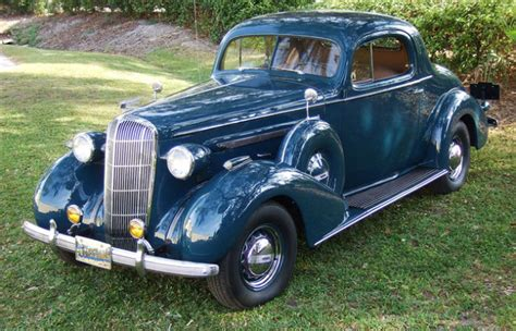 1936 Buick Century 66s Rumble Seat Coupe