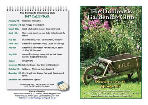 the donheads gardening club newsletter