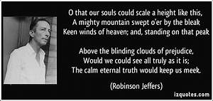 O that our soul... Scale Mountain Quotes