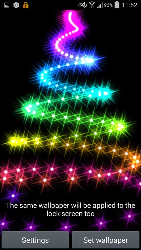 christmas lights 2014 live wallpaper for android youtube