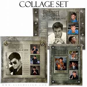 54 best images about collage photoshop templates on With senior photo collage templates