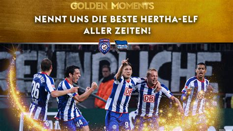 V., commonly known as hertha bsc (german pronunciation: Hertha BSC: Voting zur Legenden-Elf   Fußball News   Sky Sport