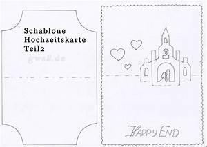Hochzeitskarte Basteln Vorlage : hochzeitskarte mit pop up kirche und magnettor ~ Frokenaadalensverden.com Haus und Dekorationen