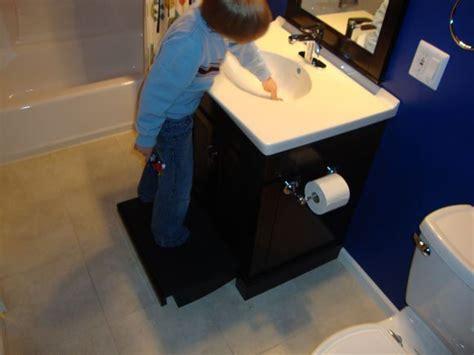 Bathroom Vanity With Step Stool Best Vanity For Bathroom American Standard