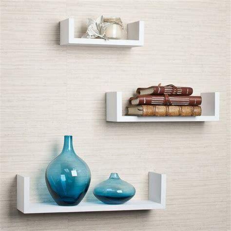wickes  piece floating shelf set   floating wall