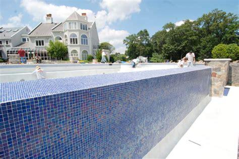 swimming pool tile design nj glass tile installation