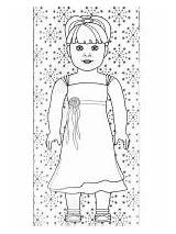 Coloring Doll American Pages sketch template