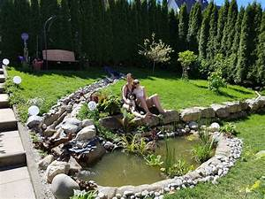 Gartenteich Mit Bachlauf : gartenteich bachlauf bachlauf gestalten bachlauf anlegen ~ Buech-reservation.com Haus und Dekorationen