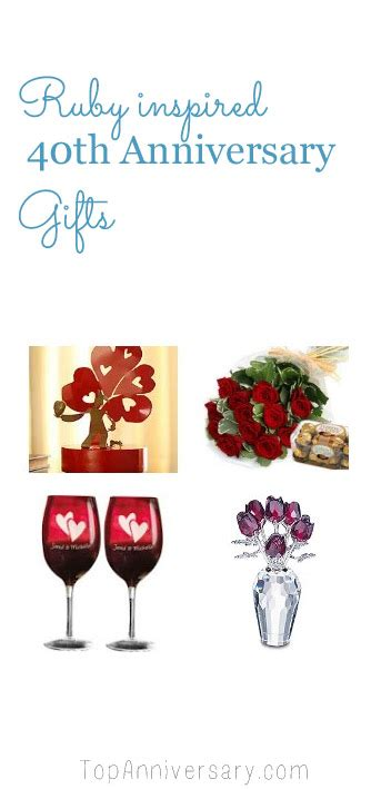 40th wedding anniversary gift 40th wedding anniversary gift ideas from topanniversary