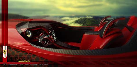 future ferrari supercar ferrari millenio concept the future of italian electric
