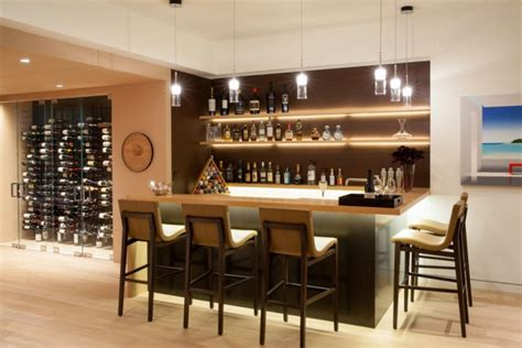 Inside Home Bar by 16 Amazing Contemporary Home Bars For The Best