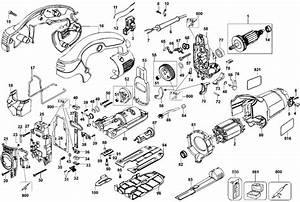 Dewalt Dw331 Jigsaw Parts  Type 10  Parts