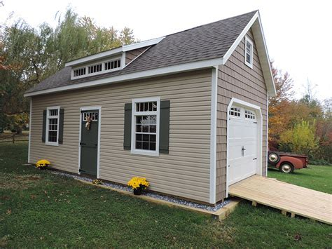 Amish Built Storage Sheds in Maryland   Glick Woodworks