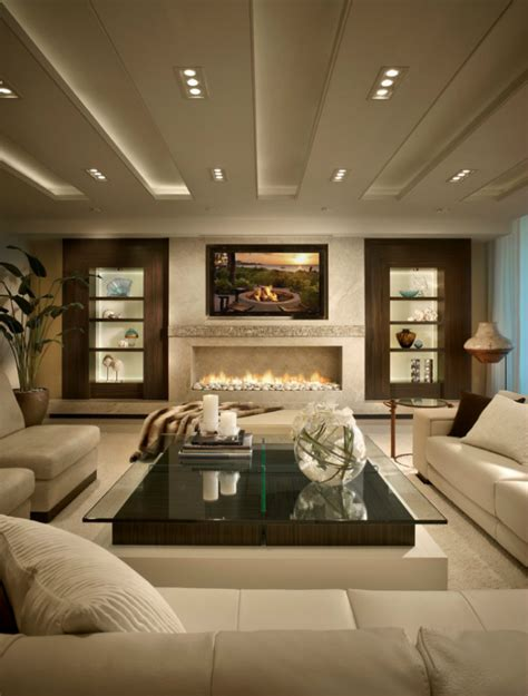 modern livingroom design contemporary fireplaces for luxury living rooms
