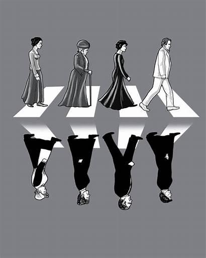 Abbey Downton Road Beatles Deviantart Qetza Parodies