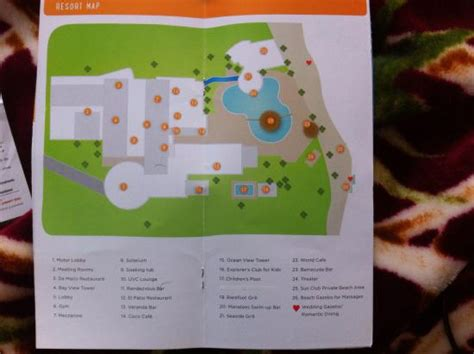 resort coupons  map picture  sunscape puerto