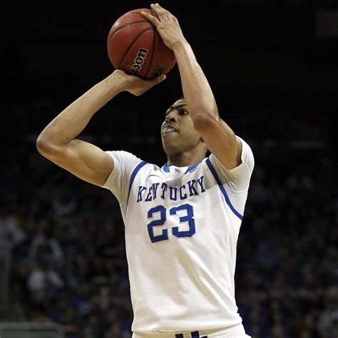 anthony davis comparing projected   pick  nba stars