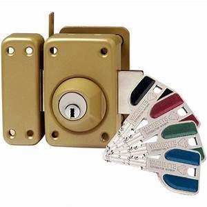 verrou de porte vachette a2p haute securite rad achat With serrure securite porte