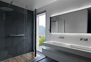 douche a l39italienne elegance simplicite design en 38 With salle de bain design avec led décoration intérieur