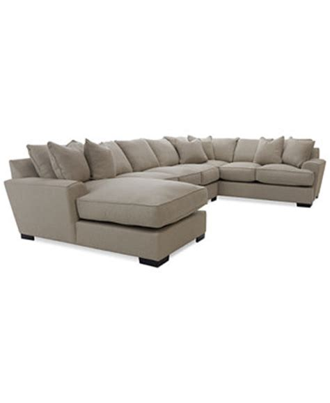 Macys Sofa Pillow Covers by Ainsley 3 Sectional With Chaise Apartment Sofa 6