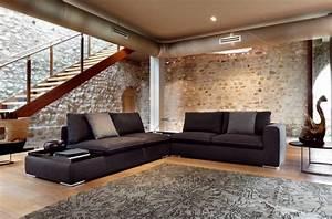 canape d39angle dans le salon pour plus de confort a la maison With tapis jaune avec canapé d angle atlas