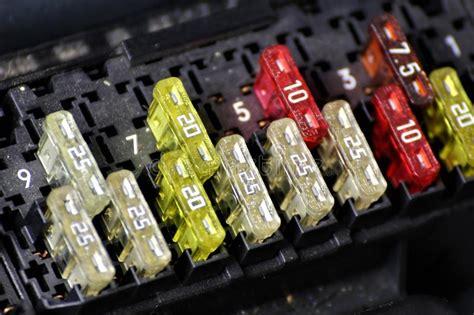 Car Fuse Box Repair by Fuse Box Car Stock Image Image Of Working Circuit