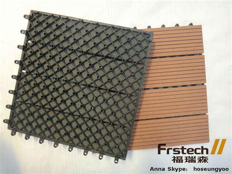 300x300mm fireproof cheap diy tile interlocking composite
