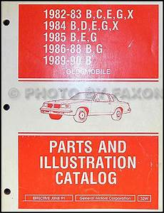 1984 Oldsmobile Electrical Troubleshooting Manual Original